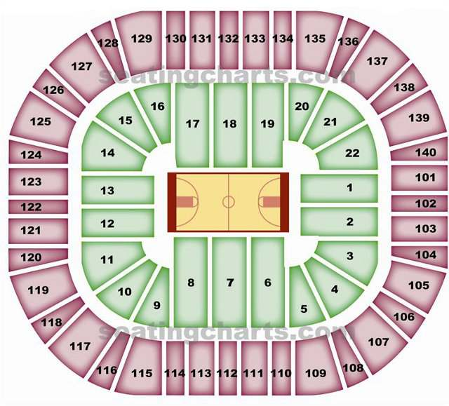 Utah Jazz Seating Chart  JazzSeatingChart